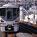 大阪環状線に乗りれる阪和線直通快速225系 20171001