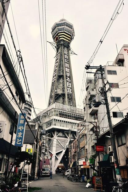 やっぱり大阪に来たと感じる通天閣風景。。20171001