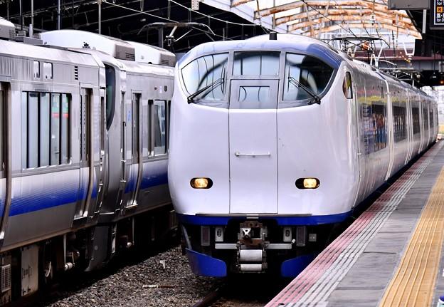 大阪環状線新今宮駅 関空へ特急はるか 281系 20171001