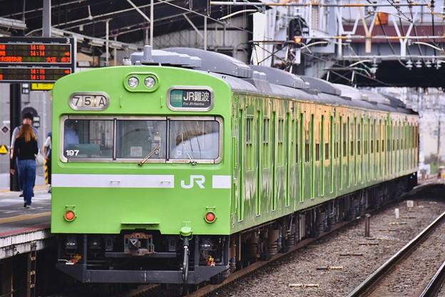 西日本で見れる国鉄時代の103系大和路線 20171001