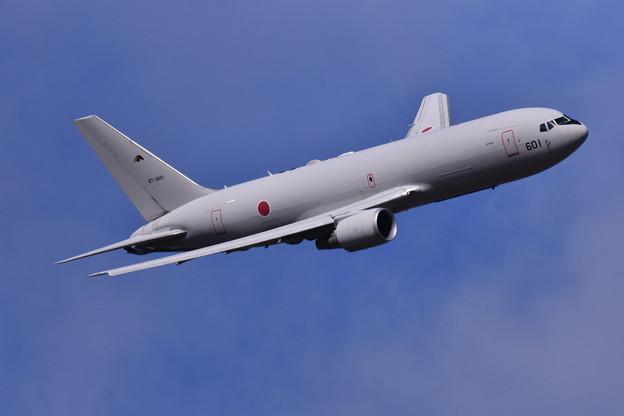 写真: 撮って出し。。岐阜基地航空祭 KC-767 11月19日