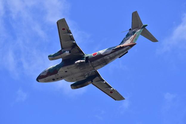 入間基地上空を飛行。。C-1輸送機 20171030