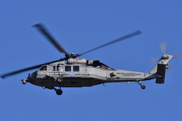 トランプ大統領の護衛ヘリコプター。。HSC-12ゴールデンファルコズ 20171105