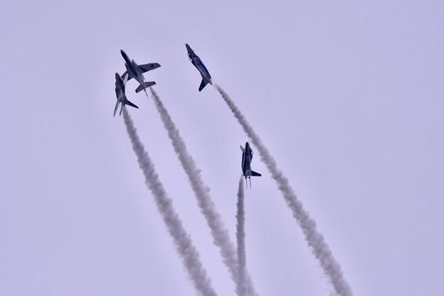 岐阜基地航空祭 ブルーインパルスローリングコンバットピッチ