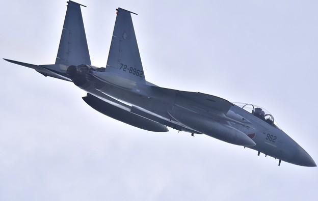 瀬長島からの上がり撮りちょっと高めの第204飛行隊イーグル上がり 20171122