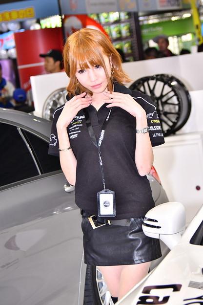 撮って出し。。東京オートサロンを彩るお姉さん(2) 1月13日