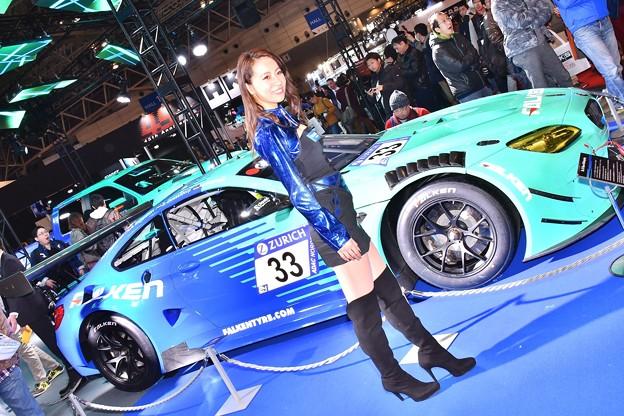 撮って出し。。東京オートサロン レースクイーンとレースマシン 1月13日
