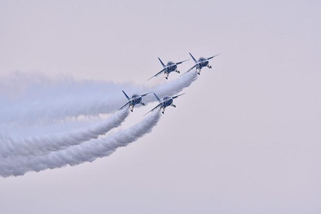 築城基地航空祭。。ブルーインパルスダーティーターン