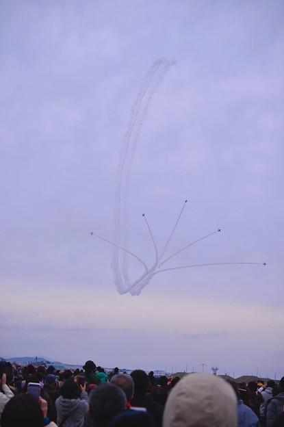 築城基地航空祭。。青空で見たかったブルーインパルス サンライズ