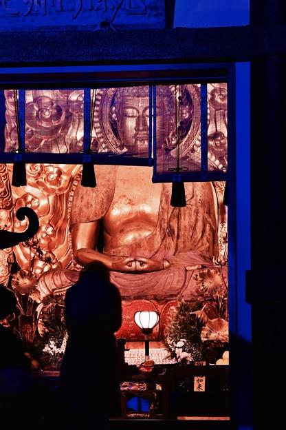 夜の参拝。。鎌倉長谷寺 風景 20171209