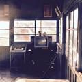 写真: 昔の生活感残す駅舎。。小湊鉄道上総鶴舞駅 20171210