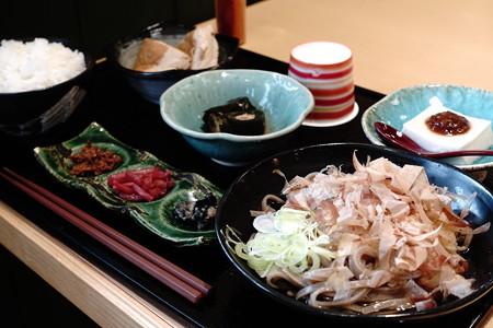 禅の里定食(道の駅・禅の里【福井】)