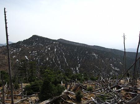 c-110504-142503 八経ヶ岳を望む