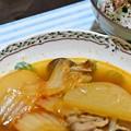 20171023夕食キムチ鍋
