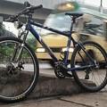 写真: 私の自転車  1/30sはスローシャッター???