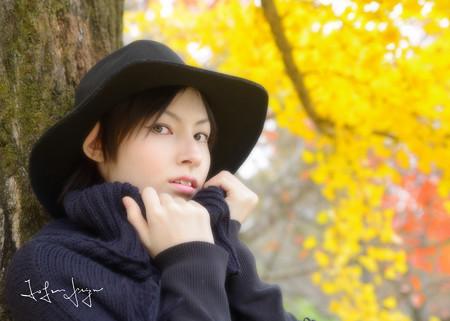 村上リサ銀杏あおりアップ2L