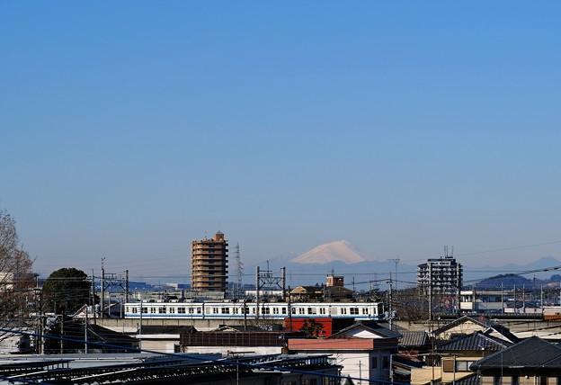 浅間山と東武鉄道
