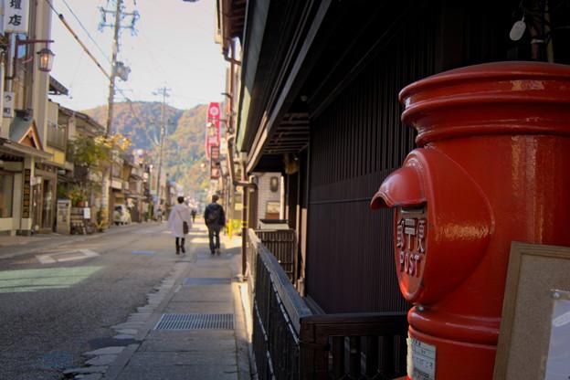 写真: 郵便ポストのある風景1