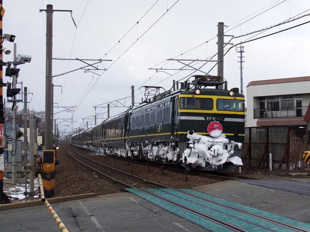 EF81-43牽引 トワイライトエクスプレス 5