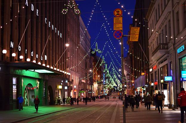 華やかな夜の街