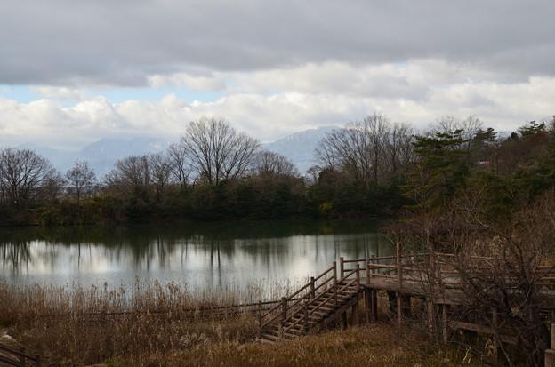 写真: 冬空景色