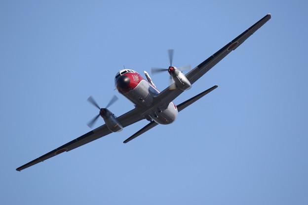 U125&YS-11FC飛行展示2