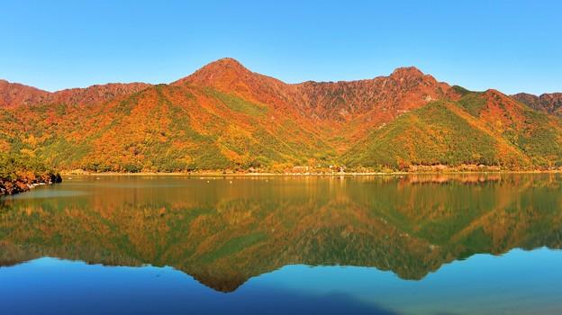 鏡面の秋景 ~西湖~