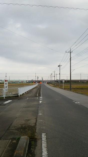 新4号国道、道の駅ごか近くの4車線化進捗状況その1