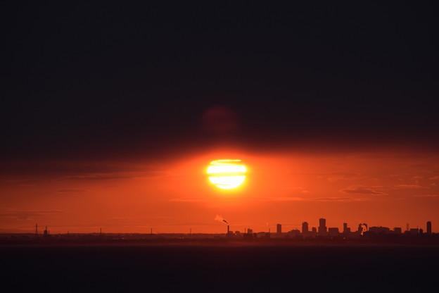 小樽祝津からの日の出3