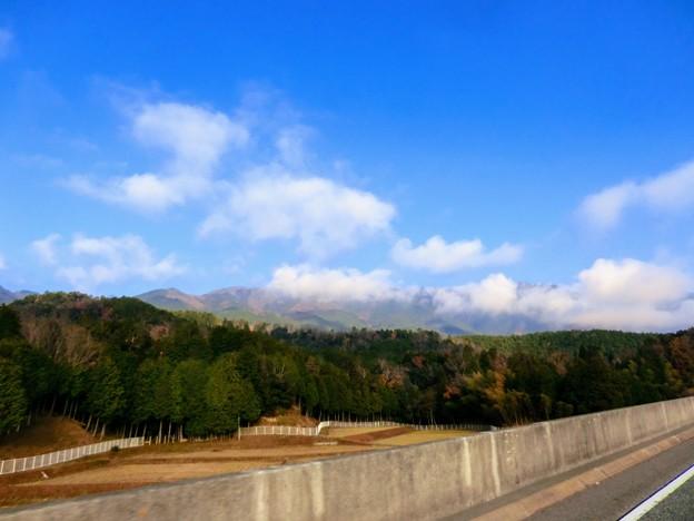 比叡山も晴れてきた