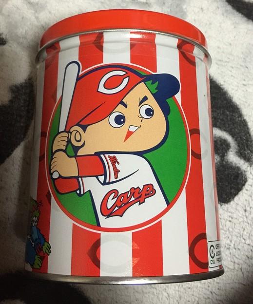garrett カープ缶