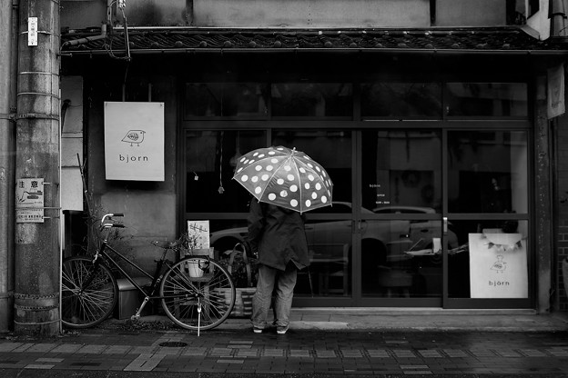 「Polka dot・ rainy day」