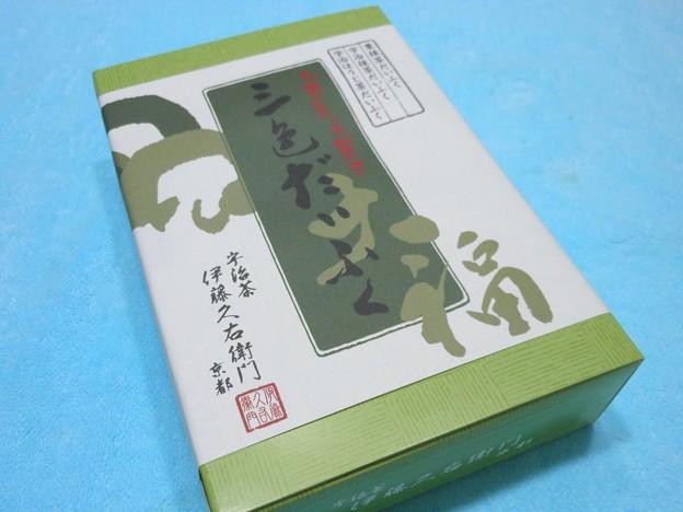 伊藤久右衛門*宇治茶三色だいふく(栗・抹茶・焙)1