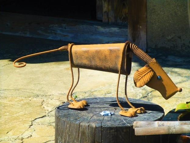 ブリキ 犬