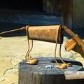 写真: ブリキ 犬
