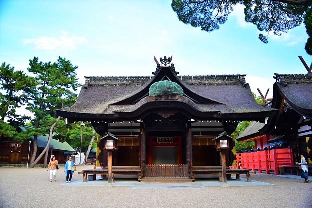 全国に約2,300ある住吉神社の総本社