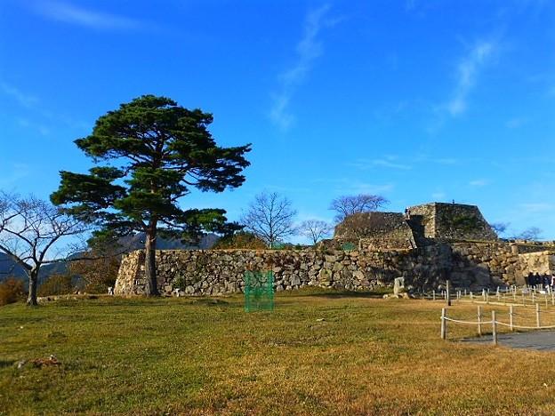 一本松と竹田城跡