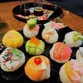 写真: 手まり寿司