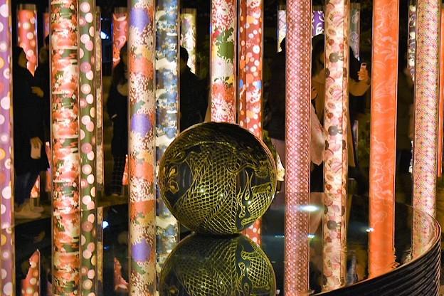 京友禅による装飾  キモノ・フォレスト