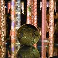 写真: 京友禅による装飾  キモノ・フォレスト