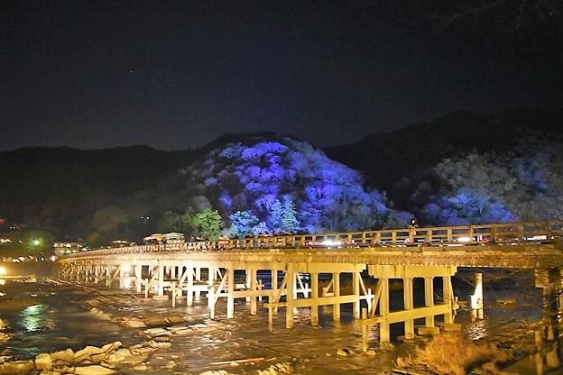 嵐山花灯路 渡月橋