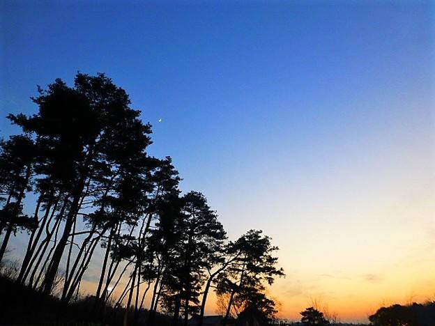 三木の夕焼け
