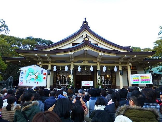 湊川神社(楠公さん) 拝殿