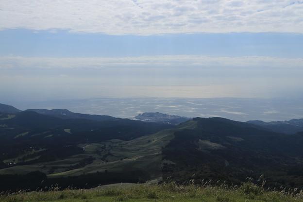 写真: 山頂到着
