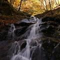 写真: 名もなき滝