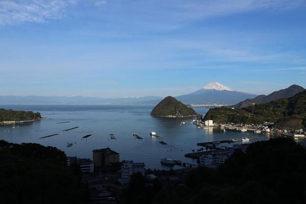 淡島+富士を望む