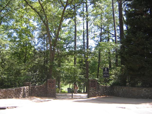 Sarah Duke Garden Memorial Gate