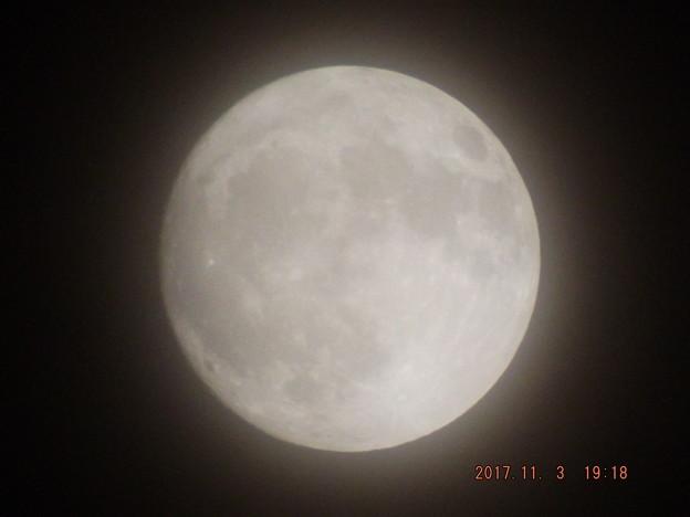 Photos: 2017/11/03(金)のお月様