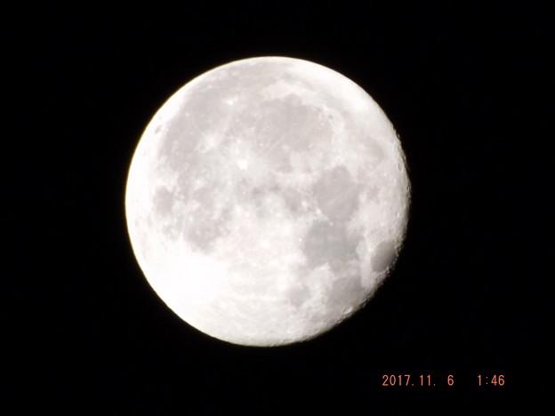 2017/11/06(月)のお月様