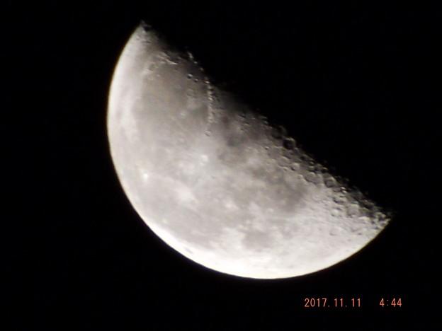 2017/11/11(土)のお月様